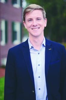 Chris Hughes '02 visited campus this week.