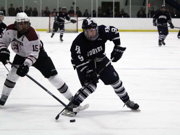 Rob Devaney '14 has been crucial to Andover's playoff advance all season.